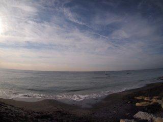 2016/12/4 のんびりとした日曜日の海